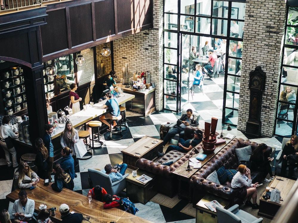 PPSK-Kiosk in cafe